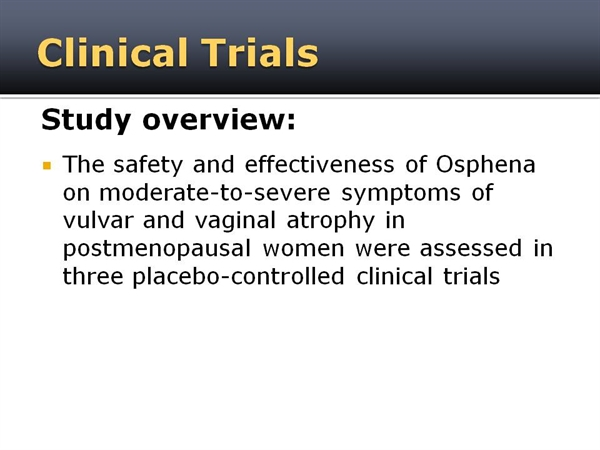 Osphena reviews