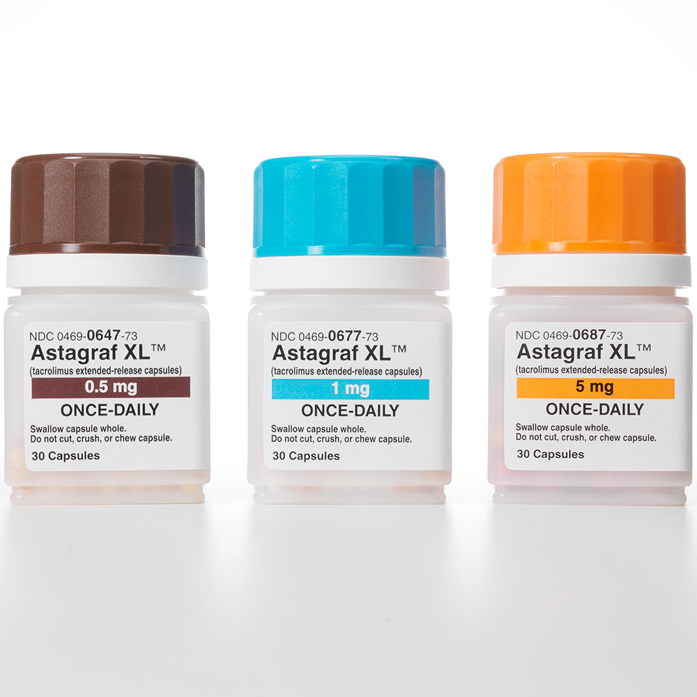 ASTAGRAF XL (tacrolimus extended-release) capsules