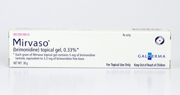 Mirvaso Topical Gel Approved for Facial Erythema of Rosacea