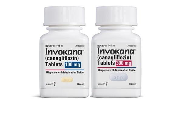 Invokana is a sodium-glucose co-transporter 2 (SGLT2) inhibitor