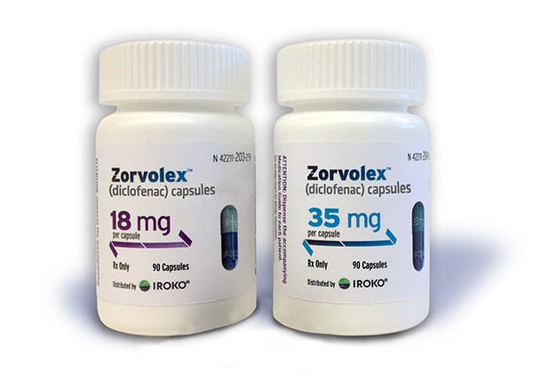 Zorvolex Gains New Pain Indication