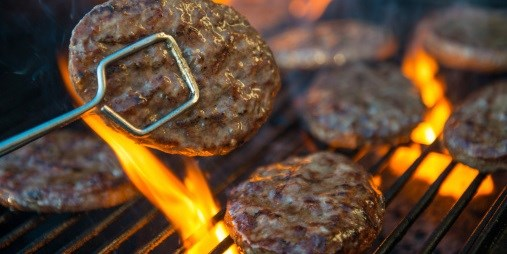 During barbecuing, dermal intake of polycyclic aromatic hydrocarbons greater than inhalation intake.