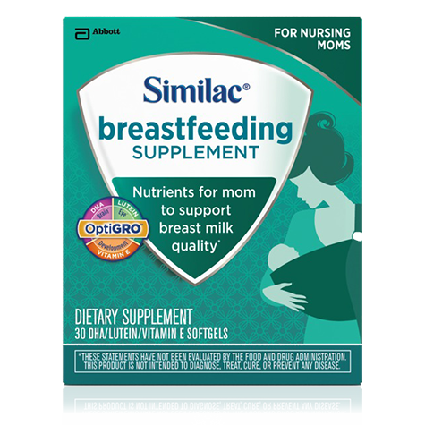 Similac Launches Breastfeeding Supplement for Nursing Mothers