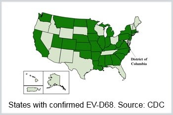 Respiratory Virus Outbreak Spreads to 29 States, DC