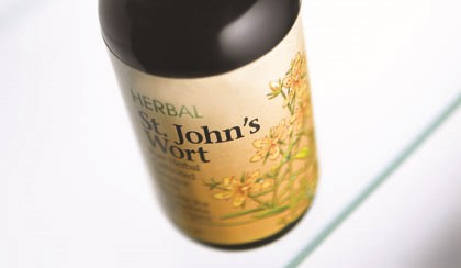 Side effects including anxiety, panic attacks, vomiting and aggression were reported when St. John's Wort and antidepressants were taken together.