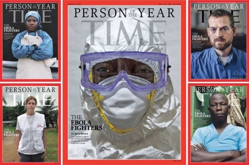 "Ebola Fighters Named ""Person of the Year"" by Time Magazine"