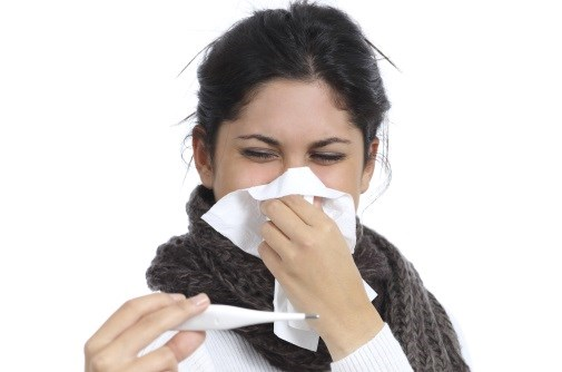 Feeling sick affects multiple body systems.