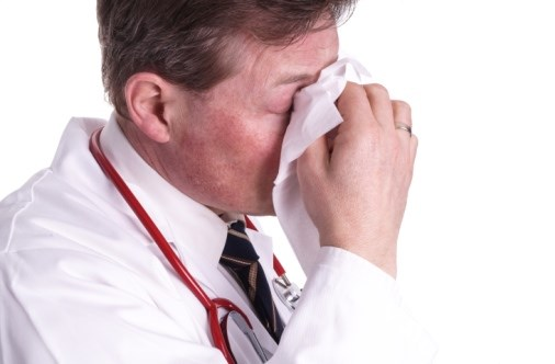 Most Clinicians Report Working While Sick Despite Risks to Patients