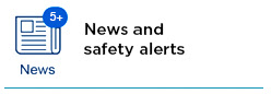 News and Safety Alerts