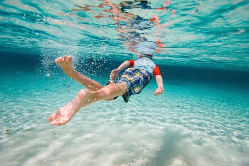 Acute CNS Complications After Breath-Hold Diving Seen in Children