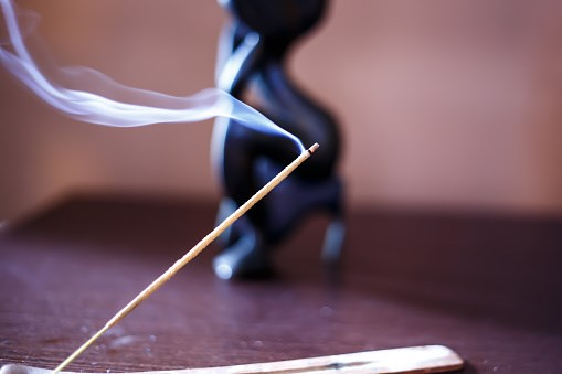 Burning Incense May Be a Health Hazard