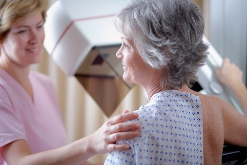 Screenings were tied to improved breast cancer mortality among those over 69