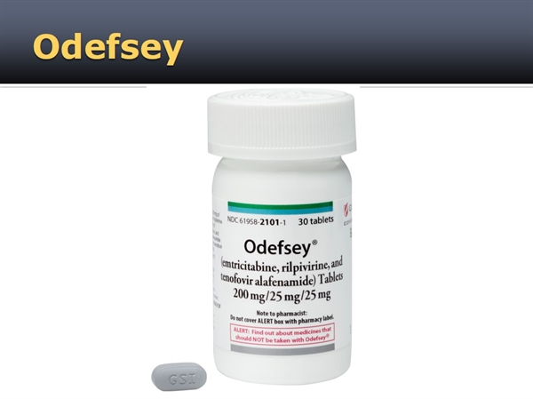 New Drug Product: Odefsey