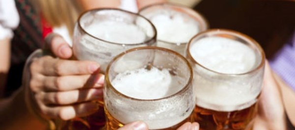 Researchers say previous findings don't account for those who abstain from alcohol because of illness