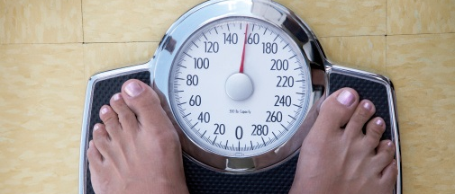 Increased self-efficacy over time seen for participants in high/consistent self-weighing group