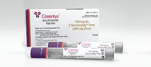 Cosentyx Slows Progression of Joint Structural Damage in Psoriatic Arthritis