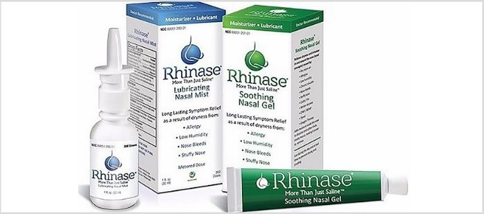Rhinase Gel and Mist Launched for Nasal Dryness