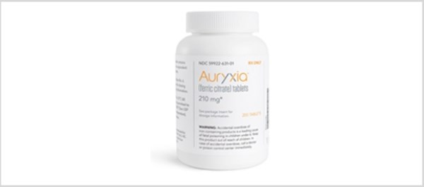 Auryxia Approved for Iron Deficiency Anemia in Patients With CKD