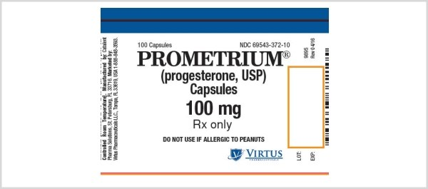 Prometrium Capsules are an oral dosage form of micronized progesteron