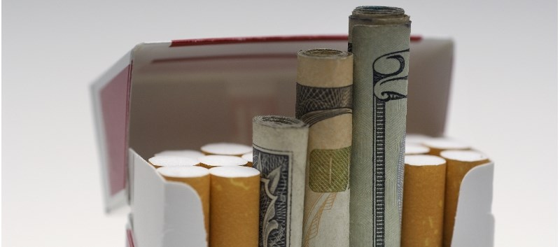 The study involved 805 low-income smokers