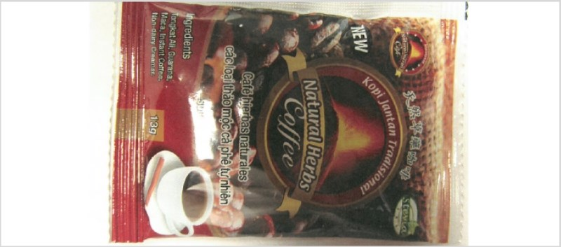FDA: Natural Herb Coffee Found to Contain Undeclared Drug