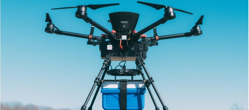 A research team flew a total of 18 units of blood via drone for approximately 8 to 12 miles