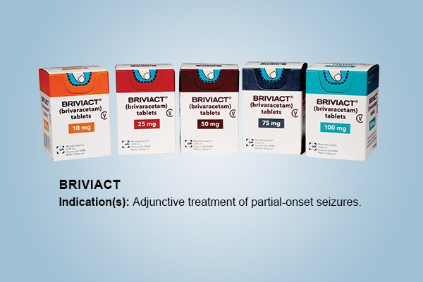 FDA Approves Briviact for Partial-Onset Seizure Monotherapy
