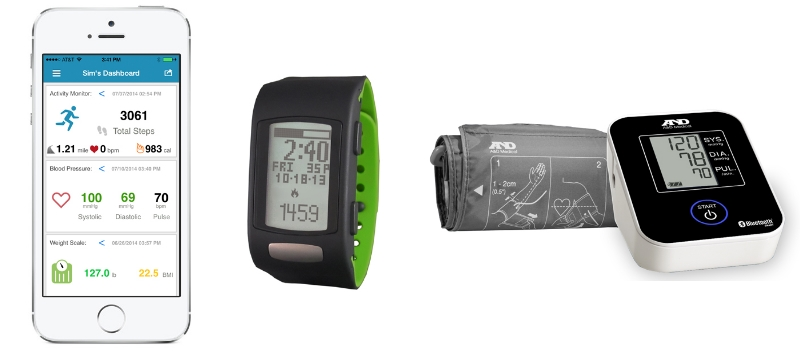 A&D blood pressure monitors