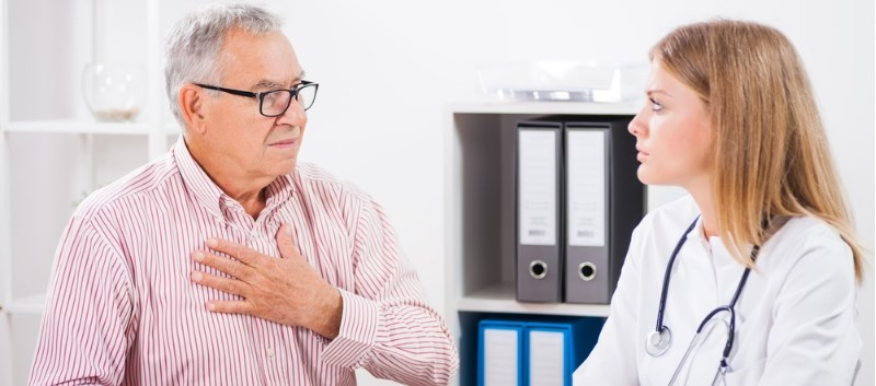 A total of 500 patients with acute chest pain were screened as part of the study