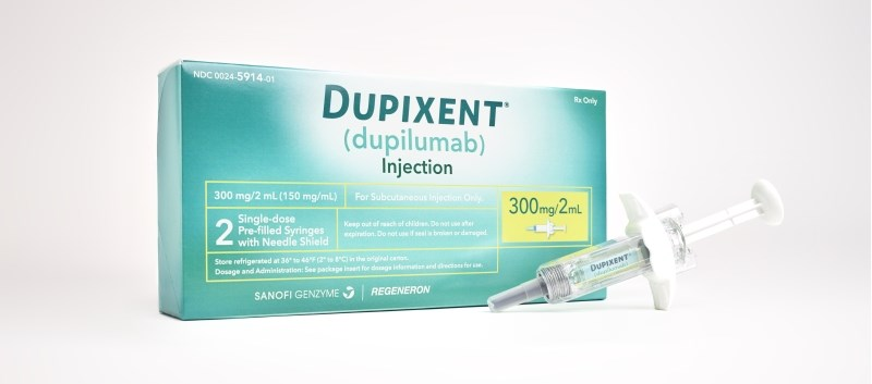 Positive Results for Dupilumab in Teen Atopic Dermatitis Trial