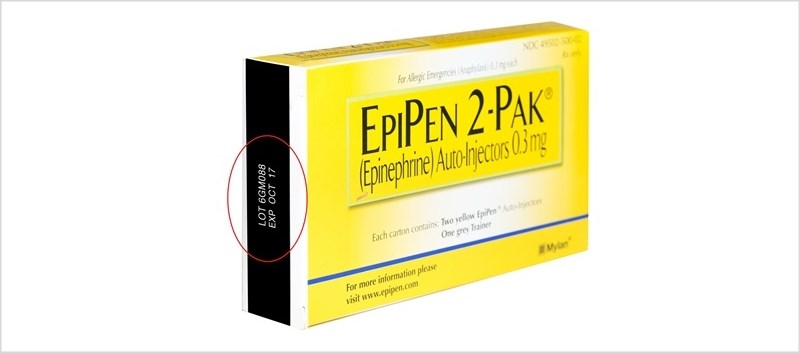 Potential Defect Prompts EpiPen Recall