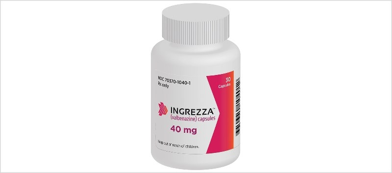 Ingrezza will be available as 40mg strength capsules in 30- and 90-count bottles.