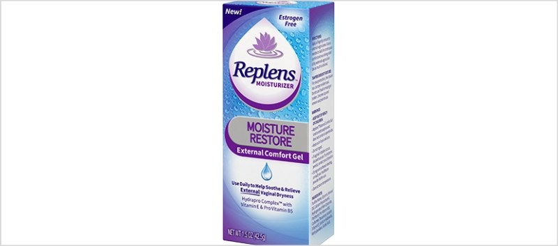 Replens Moisture Restore Gel Available for Vaginal Dryness