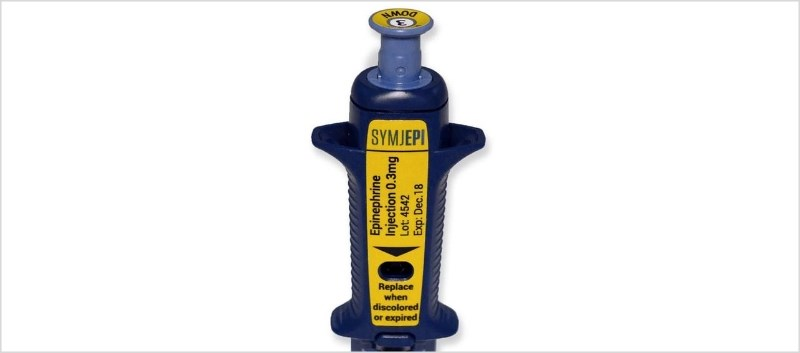 Symjepi is supplied in a pre-filled syringe for manual injection, containing 0.3mg/0.3mL epinephrine sterile solution