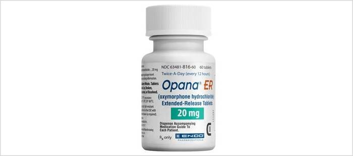The FDA requested the removal of Opana ER from the market after a review of postmarketing data