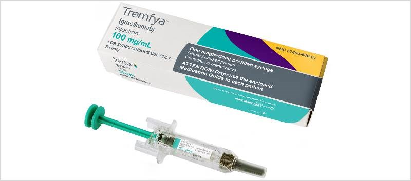 The data showed 82.1% of Tremfya-treated patients achieved at ≥90% improvement in the PASI