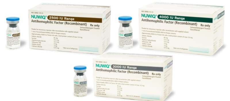 FDA Approves Additional Vial Strengths of Nuwiq for Hemophilia A