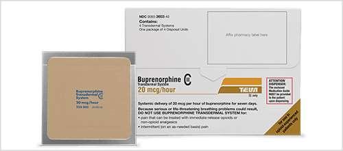Buprenorphine transdermal patch prescriptiongiant.