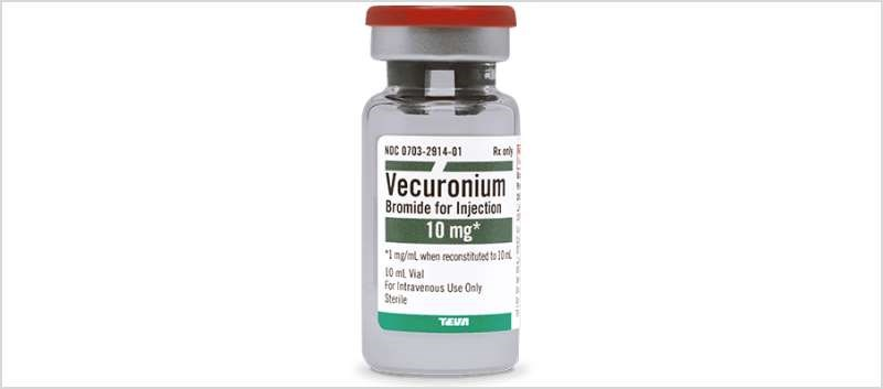 Teva Relaunches Vecuronium Bromide for Injection