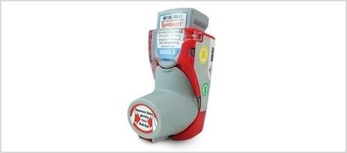 SmartTouch for Symbicort is a monitoring device that is installed onto the patient's inhaler