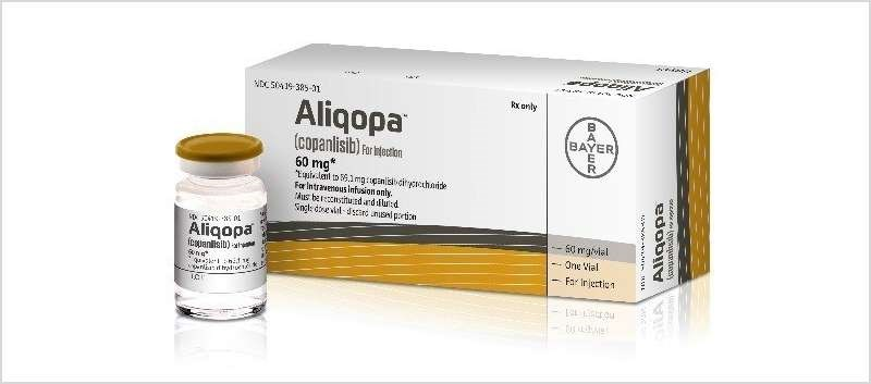 The approval is based on data from a trial of 104 patients with follicular B-cell non-Hodgkin lymphoma
