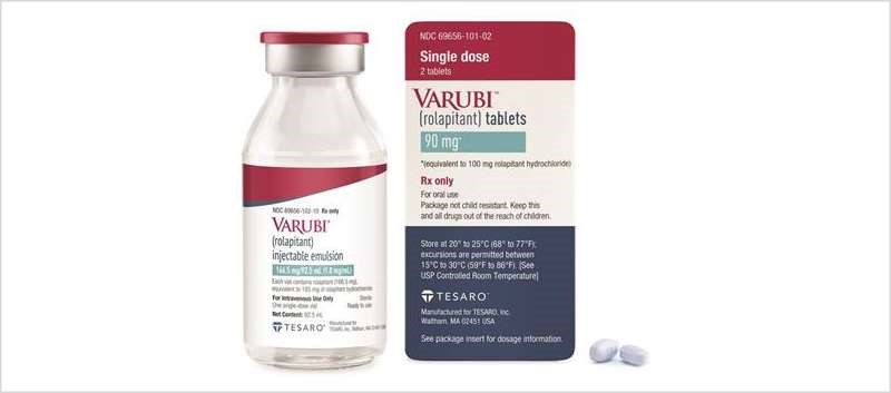 Varubi injectable emulsion features ready-to-use, single-dose vial