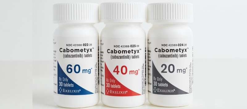 Cabometyx is already FDA-approved for the treatment of renal cell carcinoma