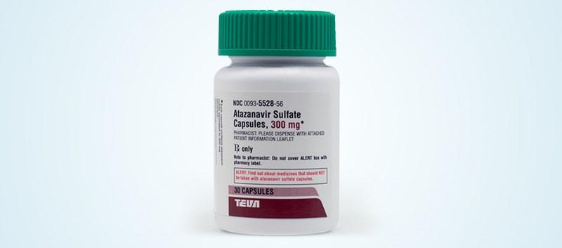 Teva launches Atazanavir Sulfate Capsules