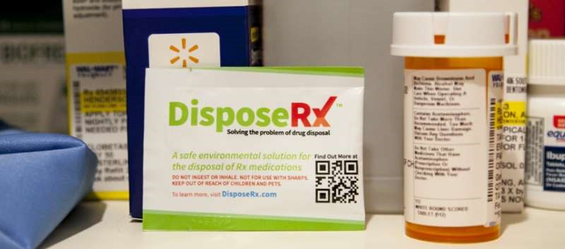 Walmart Offers Unique Opioid Disposal Solution With DisposeRx