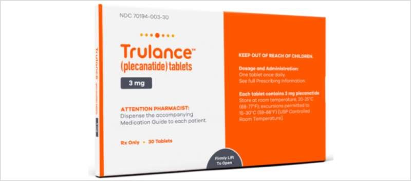 Trulance achieved the primary endpoint in both trials vs. placebo