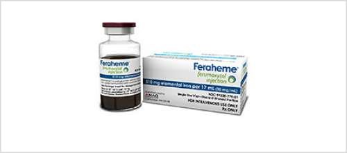 FDA Approves Expanded Use for Feraheme in Iron Deficiency Anemia