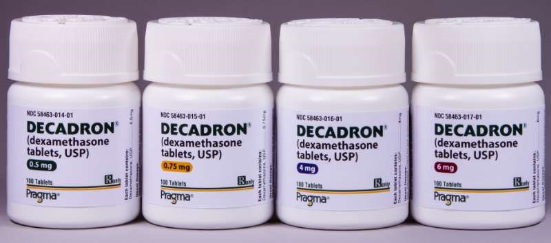 Decadron is a first-generation adrenocortical steroid
