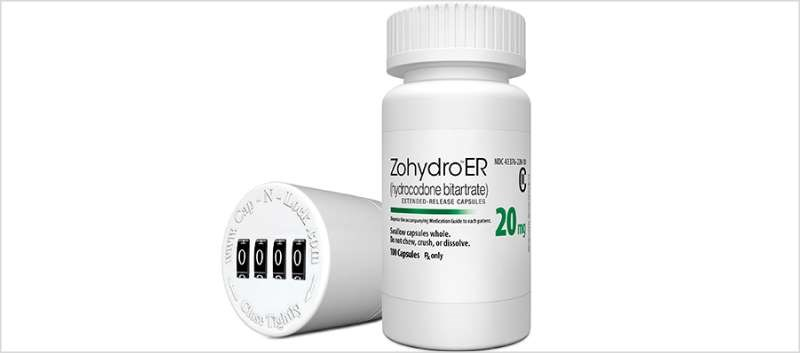 Pernix Announces Availability of Zohydro ER 20 mg Dosage Strength