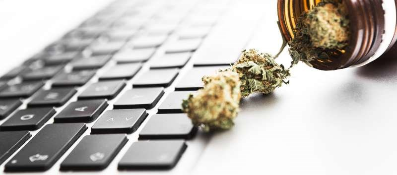 Scale of Online Marketplace for Marijuana Increasing